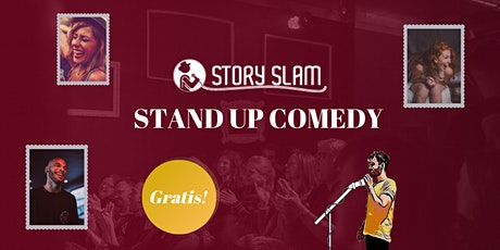 Story Slam - Stand Up Comedy Berlin - Open Mic #15 tickets