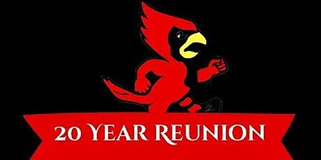 Harper Cardinals 20 Year Reunion tickets