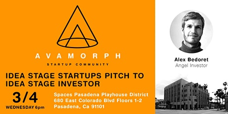 Idea Stage Startups Pitch To Idea Stage Investor tickets