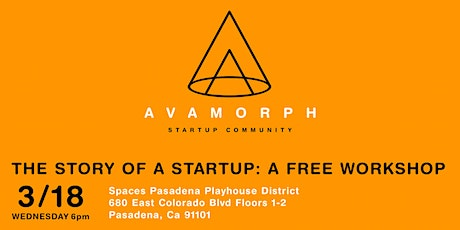 The Story Of A Startup: A Free Workshop tickets