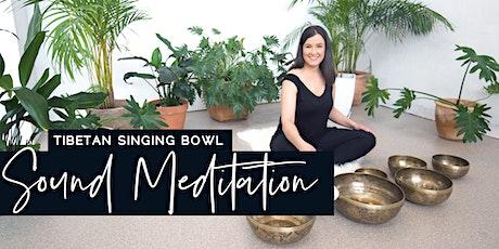 Tibetan Singing Bowl Sound Meditation - Ascot Vale tickets