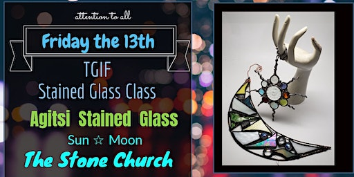 Stained Glass Moon Class