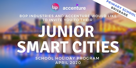Junior Smart Cities Holiday Program With Accenture - Brisbane tickets