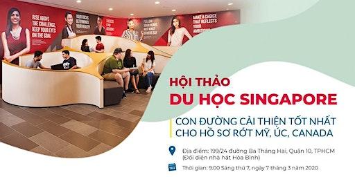 Du học Singapore cải thiện background để du học Úc, Mỹ, Canada
