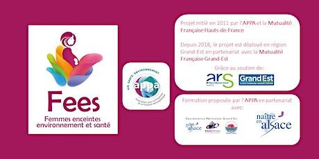 """Formation théorique """"Femmes Enceintes, Environnement et Santé"""" - Septembre billets"""