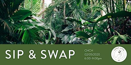 Sip & Swap - Indoor Plants tickets