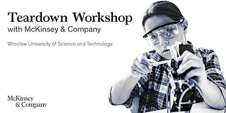 Teardown Workshop tickets