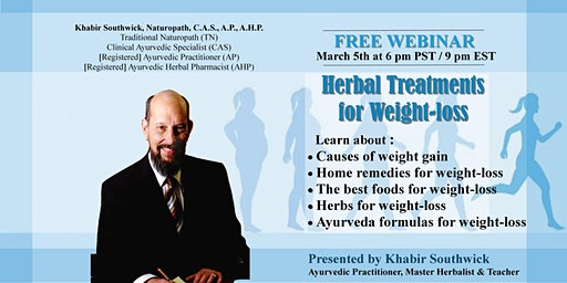 Webinar: Herbal Treatments for Weight-loss