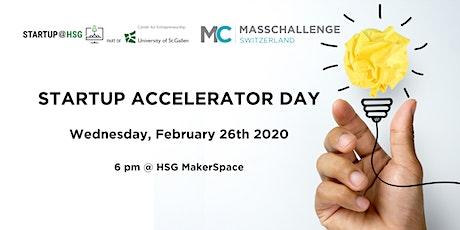 MassChallenge - Biggest Startup Accelerator in Switzerland @ MakerSpace HSG tickets