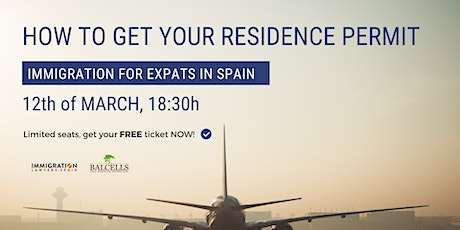 How to GET YOUR RESIDENCE PERMIT in Spain entradas