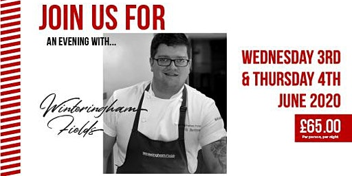 CASE Pop Up Restaurant 2020 - Wednesday 3 June