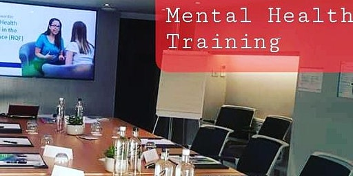 Mental Health Training in the Workplace - Nottingham