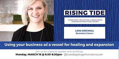 Using your business as a vessel for healing and expansion for Creative Entrepreneurs: Networking + Education tickets