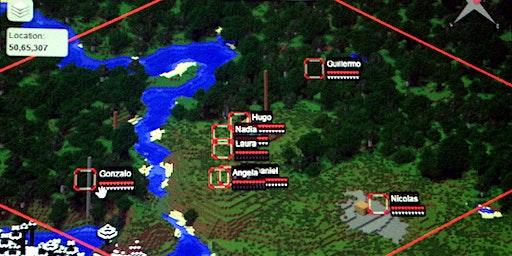 Taller de Minecraft Edu.