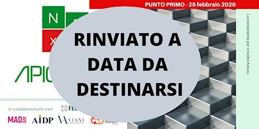 !!! Api NExT - PRIMO INCONTRO - RINVIATO A DATA DA DESTINARSI !!!