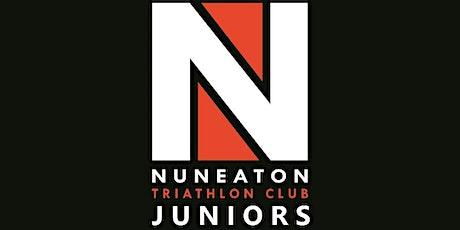 Nuneaton Triathlon Club Juniors Swim Session tickets
