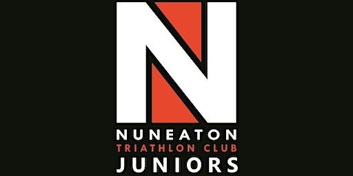 Nuneaton Triathlon Club Juniors Swim Session