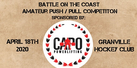 Battle On The Coast - Push/Pull Competition tickets