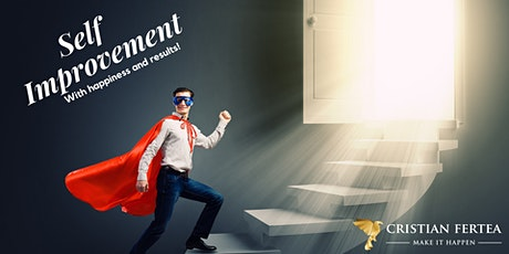 Meriți o zi pentru tine!  ȘI TU POȚI!  SELF IMPROVEMENT DAY! tickets