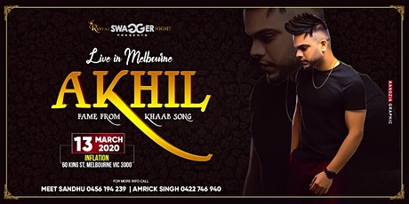 AKHIL LIVE IN MELBOURNE tickets
