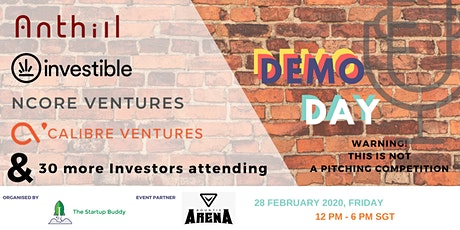 The Startup Buddy Demo Day tickets