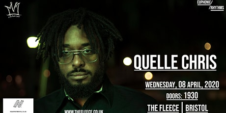 [NEW DATE] Quelle Chris + I Jahbar & Bokeh Edwards tickets