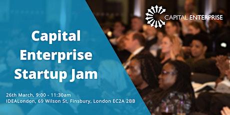 Capital Enterprise Startup Jam tickets