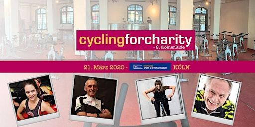 CYCLINGforcharity - 2. KölnerRide - Alle vier Stunden!