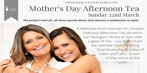 Mother's Day Afternoon Tea & Tour
