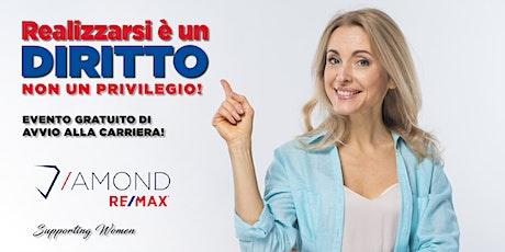 """""""REALIZZARSI E' UN DIRITTO NON UN PRIVILEGIO"""" biglietti"""
