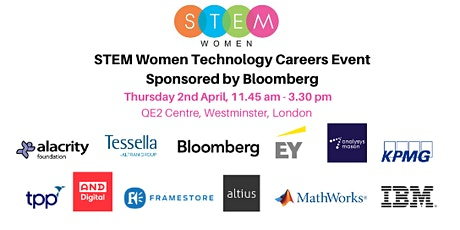 STEM Women Technology Event: Students and Graduates tickets
