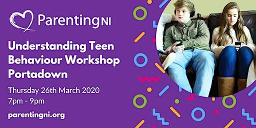 Understanding Your Teen Workshop Portadown