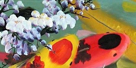 Paint Night in Bondi: Don't be Koi tickets