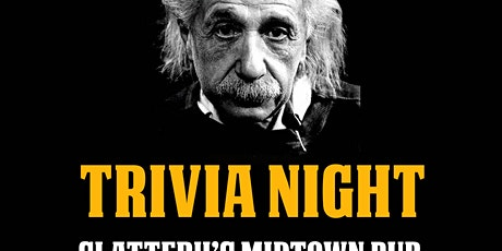 General Trivia Night tickets