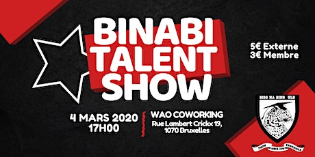 Binabi Talent Show billets