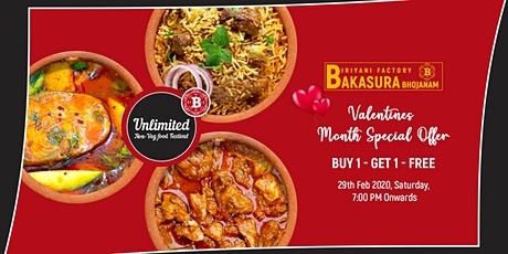 Unlimited Biriyani &15+ Non-Veg Varieties @Bakasura Bhojanam Food Festival tickets