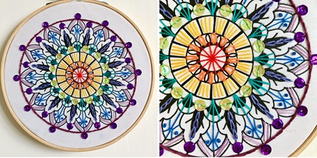 Embroidered Mandala Workshop tickets