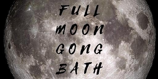 Full Moon Gong Bath Meditation