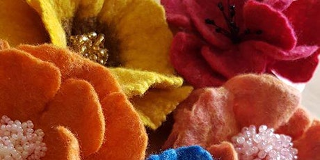 Fabulous Felt Flowers Workshop tickets