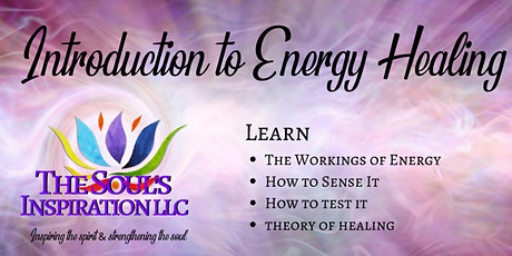Introduction to Energy Healing - Beginner tickets