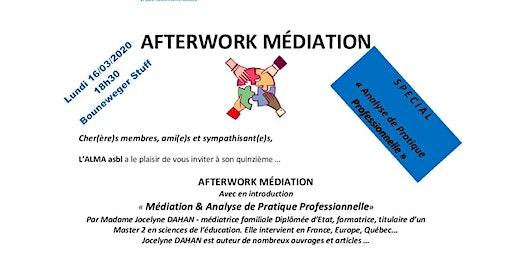 AFTERWORK MÉDIATION - Médiation & Analyse de Pratique Professionnelle