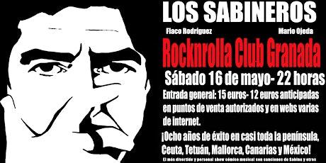 Los Sabineros regresan a la Rocknrolla Club de Granada! entradas
