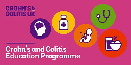 CROHN'S AND COLITIS EDUCATION PROGRAMME : NORTH WEST 2021 tickets