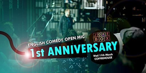 English Comedy Open Mic - 1st Anniversary Show