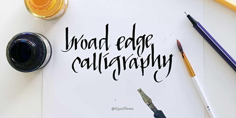 Calligraphy w/ Broad Edge Pen: Lettering w/ Confidence in Community (Vancouver Art Workshop) tickets