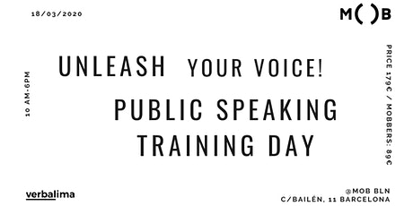 Unleash Your Voice! Public Speaking Training Day tickets