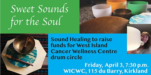 Sound Healing to raise funds for WICWC drum circle