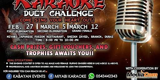 Miyabi Karaoke Challenge