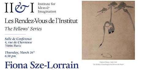 Fiona Sze-Lorrain   My Private Poems billets
