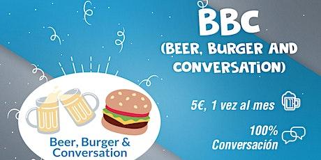 Beer, Burger and Conversation. Conversación en inglés entradas